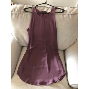 Pink Republic Purple Shift Dress